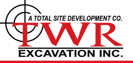 TW Roy Excavation  - Footer Logo